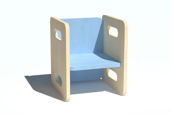 Laste tool-laud vineerist helesinine
