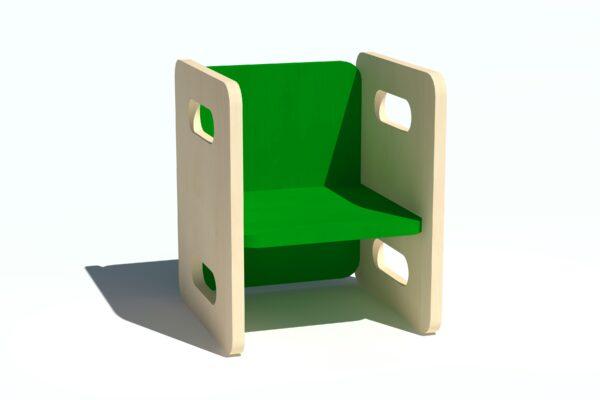 Laste tool-laud vineerist roheline